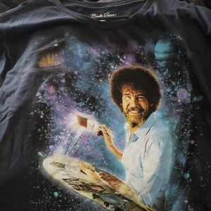 Other - Bob Ross Space tee XL